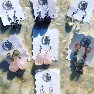 Healing Crystal Earrings